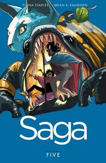 Picture of a book: Saga, Vol. 5
