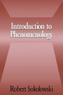 Picture of a book: Introduction to Phenomenology