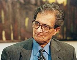 Picture of an author: Amartya Sen
