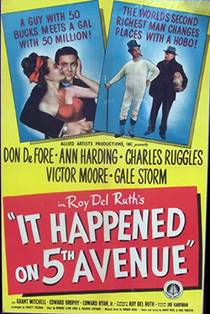 Picture of a movie: It Happened On Fifth Avenue