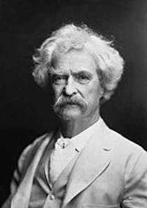 Picture of an author: Mark Twain