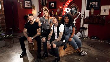 Picture of a TV show: Tattoo Fixers