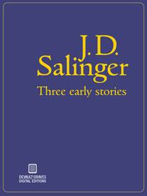 Picture of a book: Three Early Stories