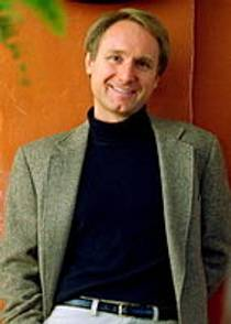 Picture of an author: Dan Brown