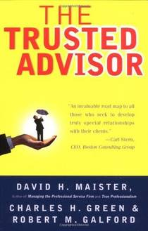 Picture of a book: The Trusted Advisor