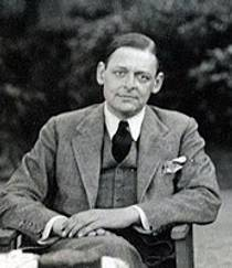 Picture of an author: T.S. Eliot
