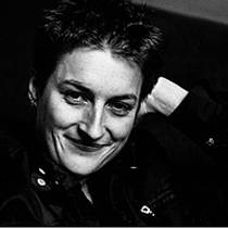 Picture of an author: Sarah Kane