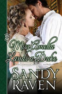 Picture of a book: Miss Amelia Lands A Duke
