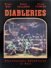 Picture of a book: Diableries: Stereoscopic Adventures in Hell