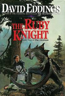 Picture of a book: The Ruby Knight
