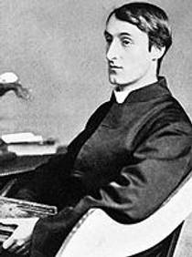 Picture of an author: Gerard Manley Hopkins