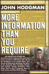 Picture of a book: More Information Than You Require