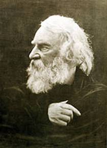 Picture of an author: Henry Wadsworth Longfellow