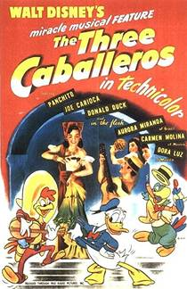 Picture of a movie: The Three Caballeros
