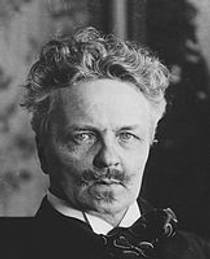 Picture of an author: August Strindberg