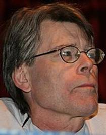 Picture of an author: Stephen King