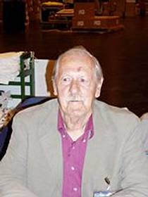 Picture of an author: Brian W. Aldiss