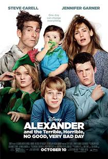 Picture of a movie: Alexander And The Terrible, Horrible, No Good, Very Bad Day