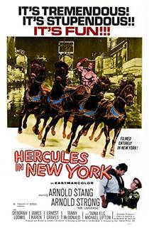 Picture of a movie: Hercules In New York