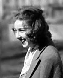 Picture of an author: Flannery O'connor