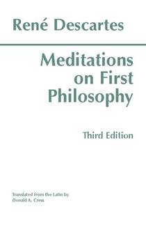Picture of a book: Meditations On First Philosophy