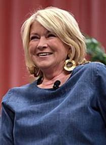 Picture of an author: Martha Stewart