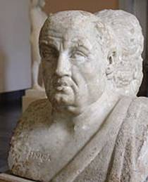 Picture of an author: Seneca