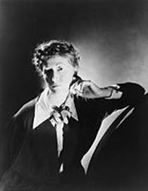 Picture of an author: Marianne Moore