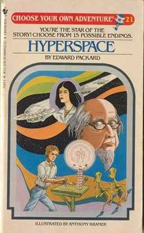 Picture of a book: Hyperspace