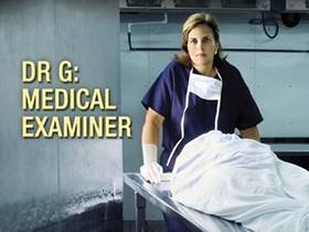 Picture of a TV show: Dr. G: Medical Examiner
