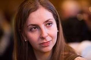 Picture of an author: Maria Konnikova