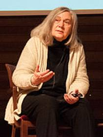 Picture of an author: Marilynne Robinson