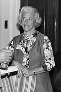 Picture of an author: Barbara W. Tuchman