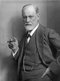 Picture of an author: Sigmund Freud