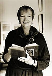 Picture of an author: Madeleine L'engle
