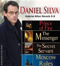 Picture of a book: Daniel Silva Gabriel Allon Novels 5-8