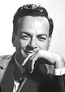 Picture of an author: Richard P. Feynman