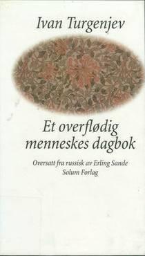 Picture of a book: Et overflødig menneskes dagbok