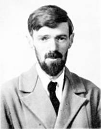 Picture of an author: D.H. Lawrence