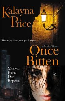 Picture of a book: Once Bitten