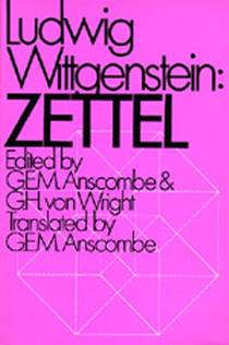 Picture of a book: Zettel