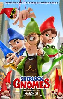 Picture of a movie: Sherlock Gnomes