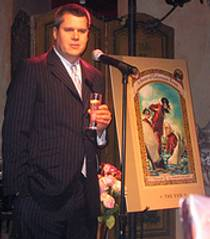 Picture of an author: Daniel Handler