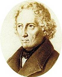 Picture of an author: Jacob Grimm