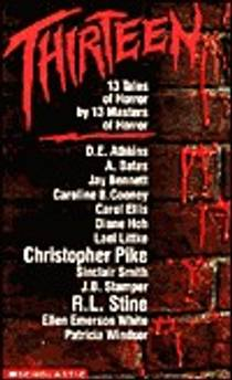 Picture of a book: Thirteen: 13 Tales of Horror by 13 Masters of Horror