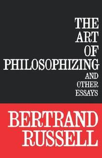 Picture of a book: The Art of Philosophizing