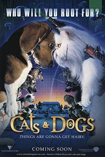 Picture of a movie: Cats & Dogs