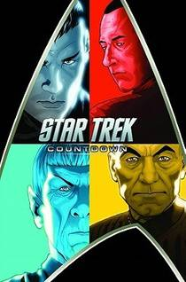 Picture of a book: Star Trek: Countdown