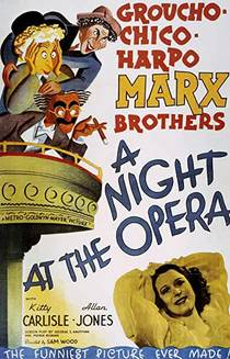 Picture of a movie: A Night At The Opera