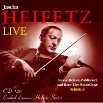 Picture of a band or musician: Jascha Heifetz